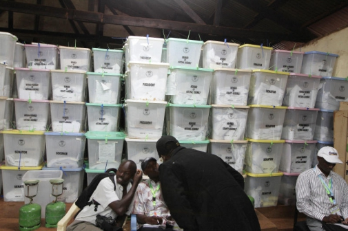 3 IEBC Officials Arrested over the Weekend trying to 'altar'election results.